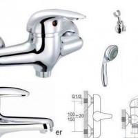 全铜淋浴花洒套装经济型淋浴**出口工程专用SL2302(01)